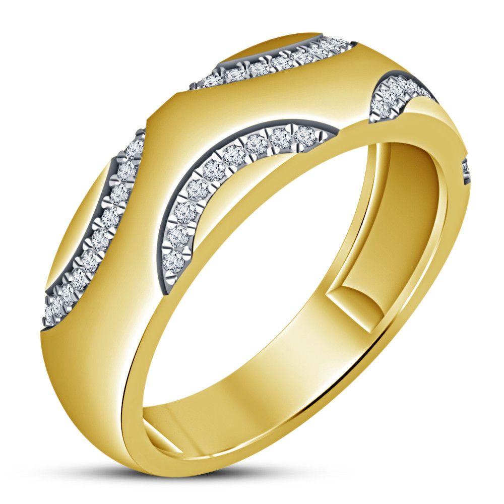22++ Yellow gold diamond wedding band info