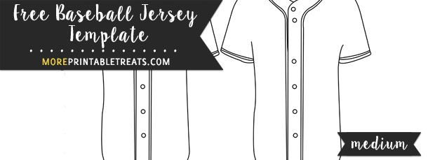 baseball jersey template medium school pinterest baseball