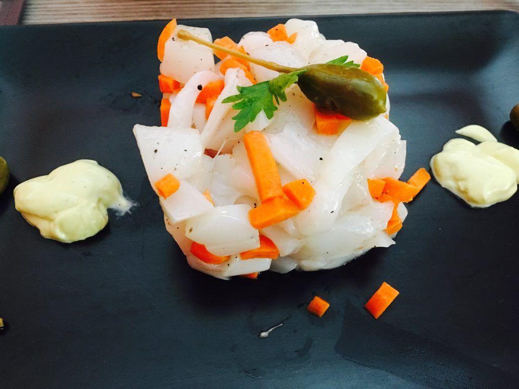 Cena a base di pesce crudo ricette