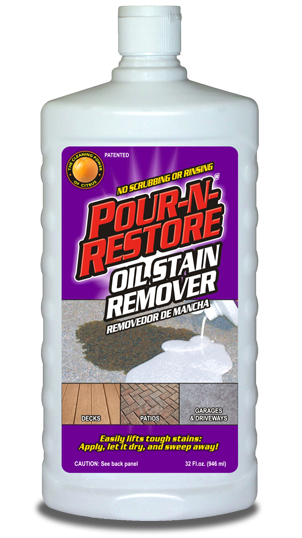 For The Oil Stains On Driveway