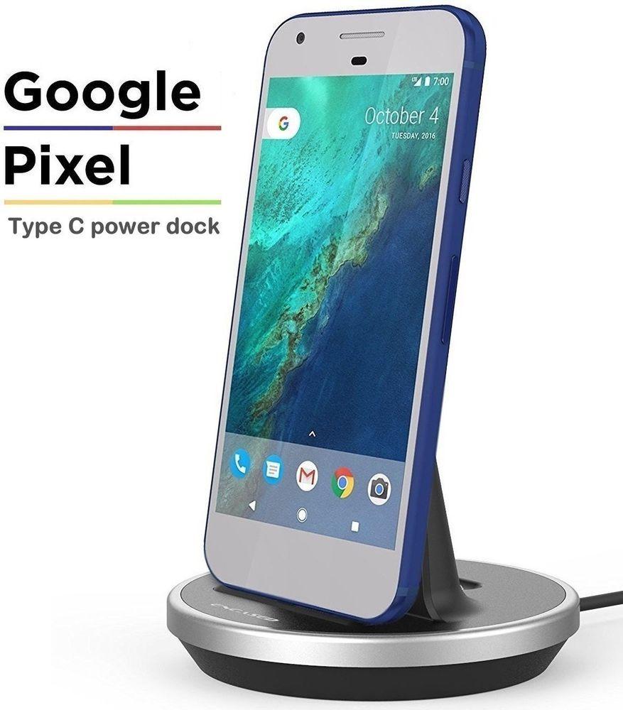 C Dock Google Pixel Desktop Usb Charger Sync Station Adapter Holder Samsung New #NXET