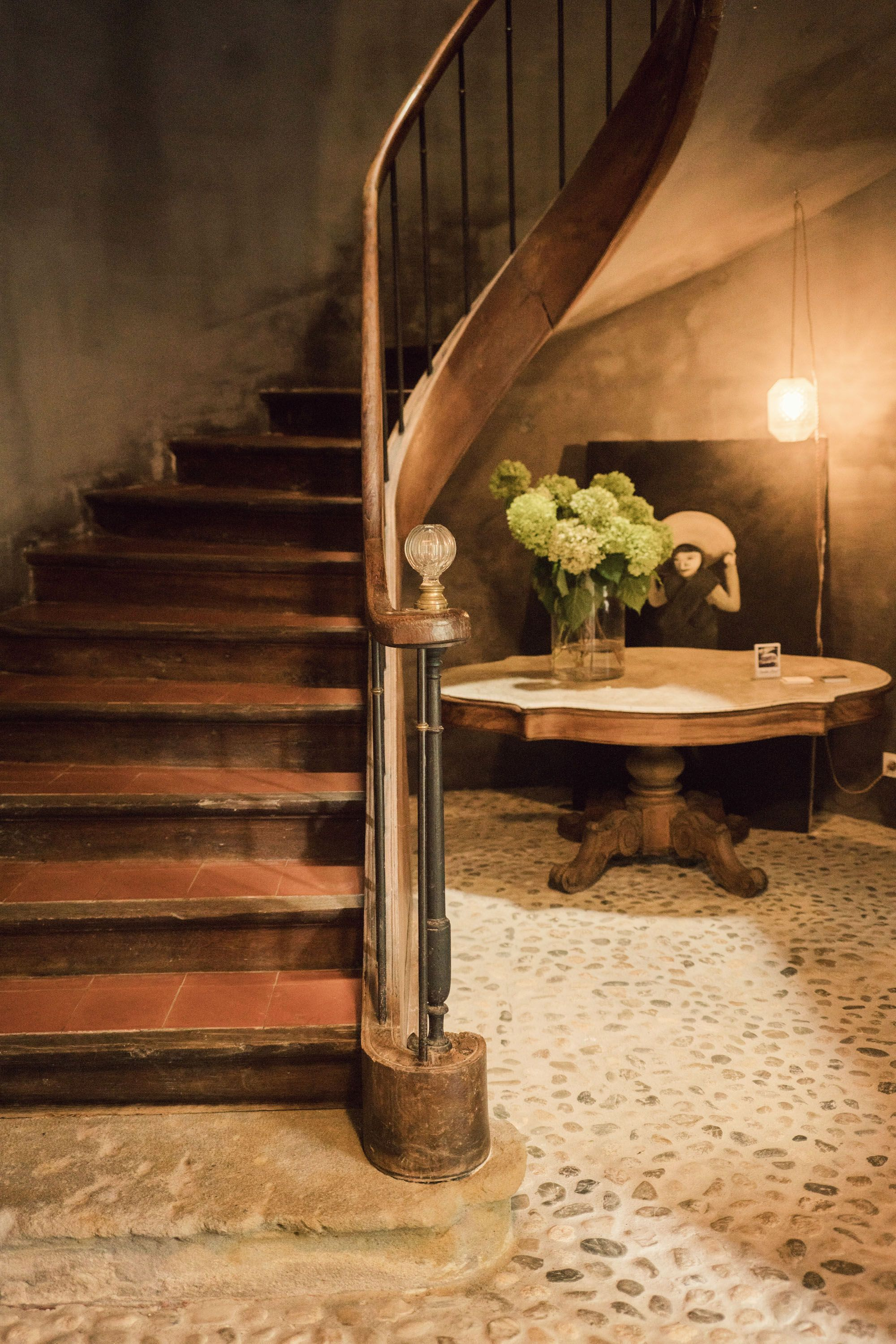 Camellas Lloret Wood Staircase Georgian Interiors Bed And Breakfast