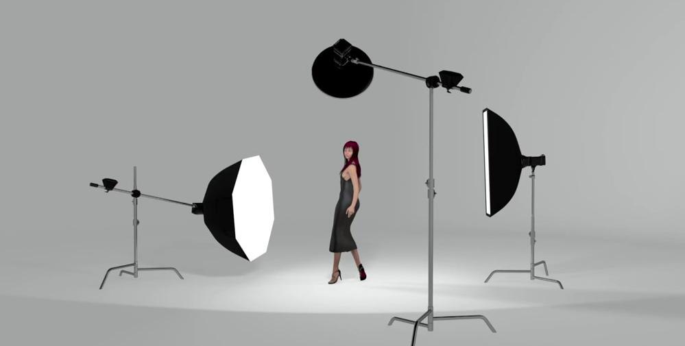 22 Advanced Fashion Photography Lighting Set Ups In 3d Photography Lighting Setup Studio Lighting Setups Three Point Lighting