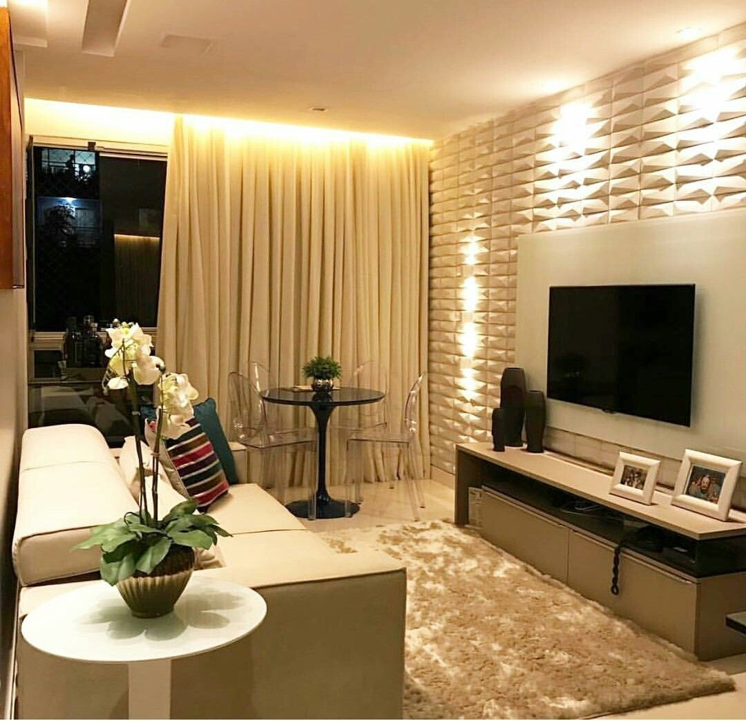 Designer Walls For Living Room Endearing Pingabriela Batista On Decoración De Interiores  Pinterest Inspiration