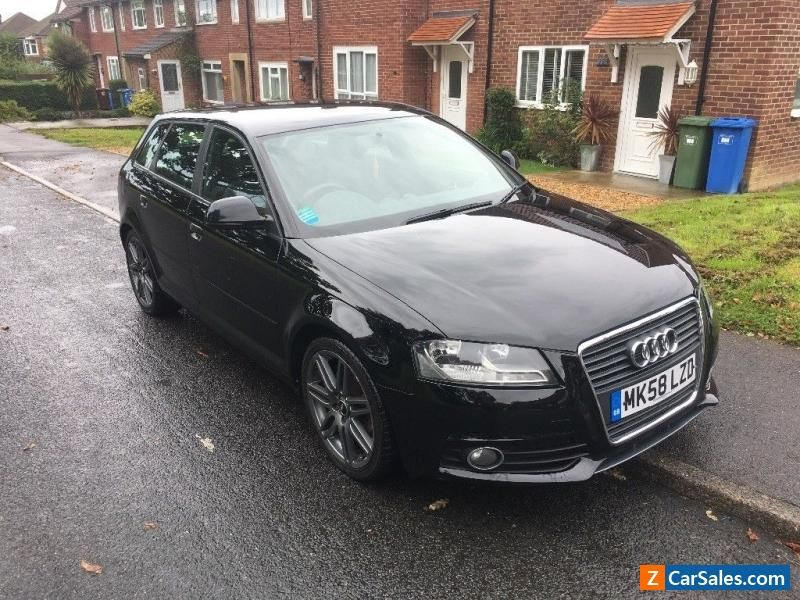Car for Sale 2008 Audi A3 2.0 tfsi s line sportback black