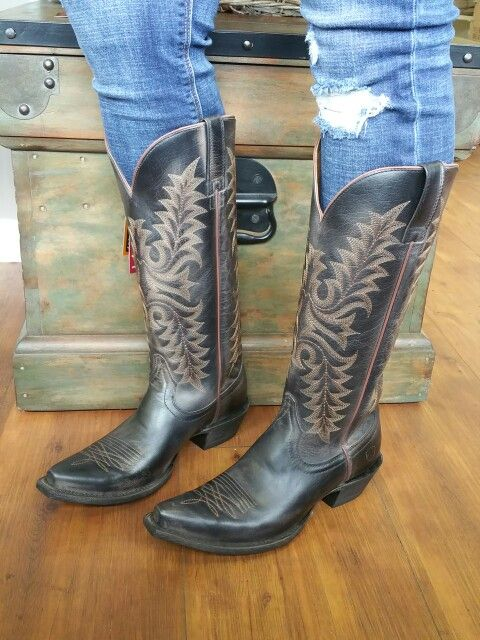 24f5f97994f Grab these at: Shopcharmings.com Ariat Boots Revel Rustic Black ...