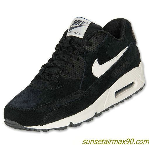 release date: 1b512 b1bd9 Nike Air Max 90 Essential Mens Black Sail Dark Grey Anthracite 537384 002