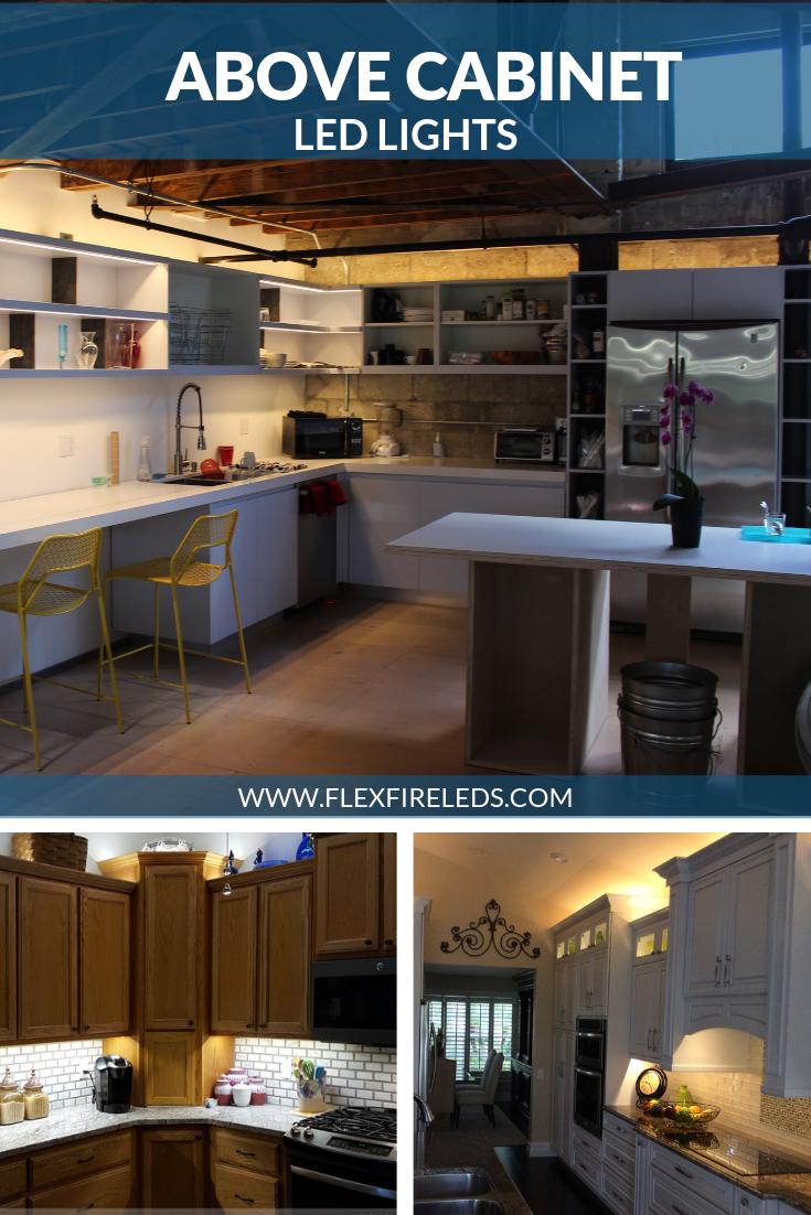 Above Cabinet Led Lighting Led Strip Lighting Above Kitchen Cabinets Above Cabinets