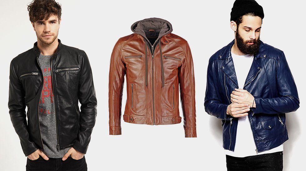 Ou trouver une veste en cuir homme