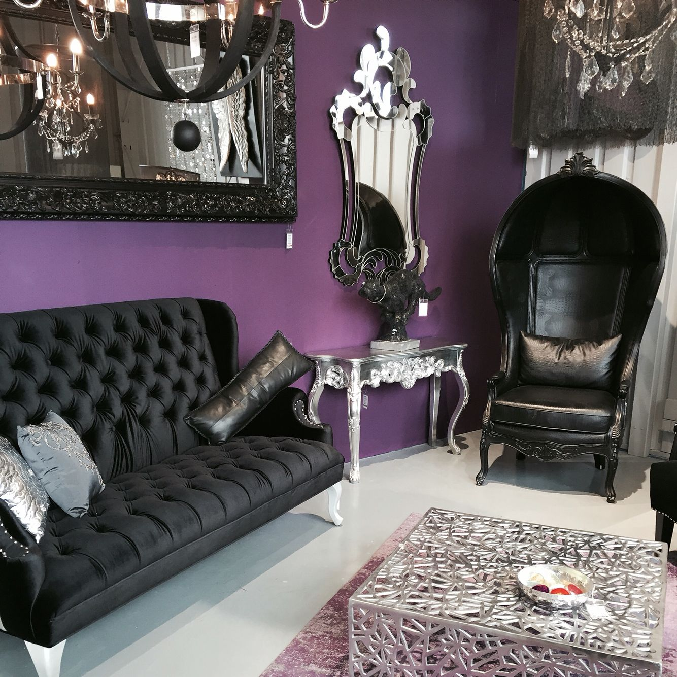 Gothic Living Rooms, Living