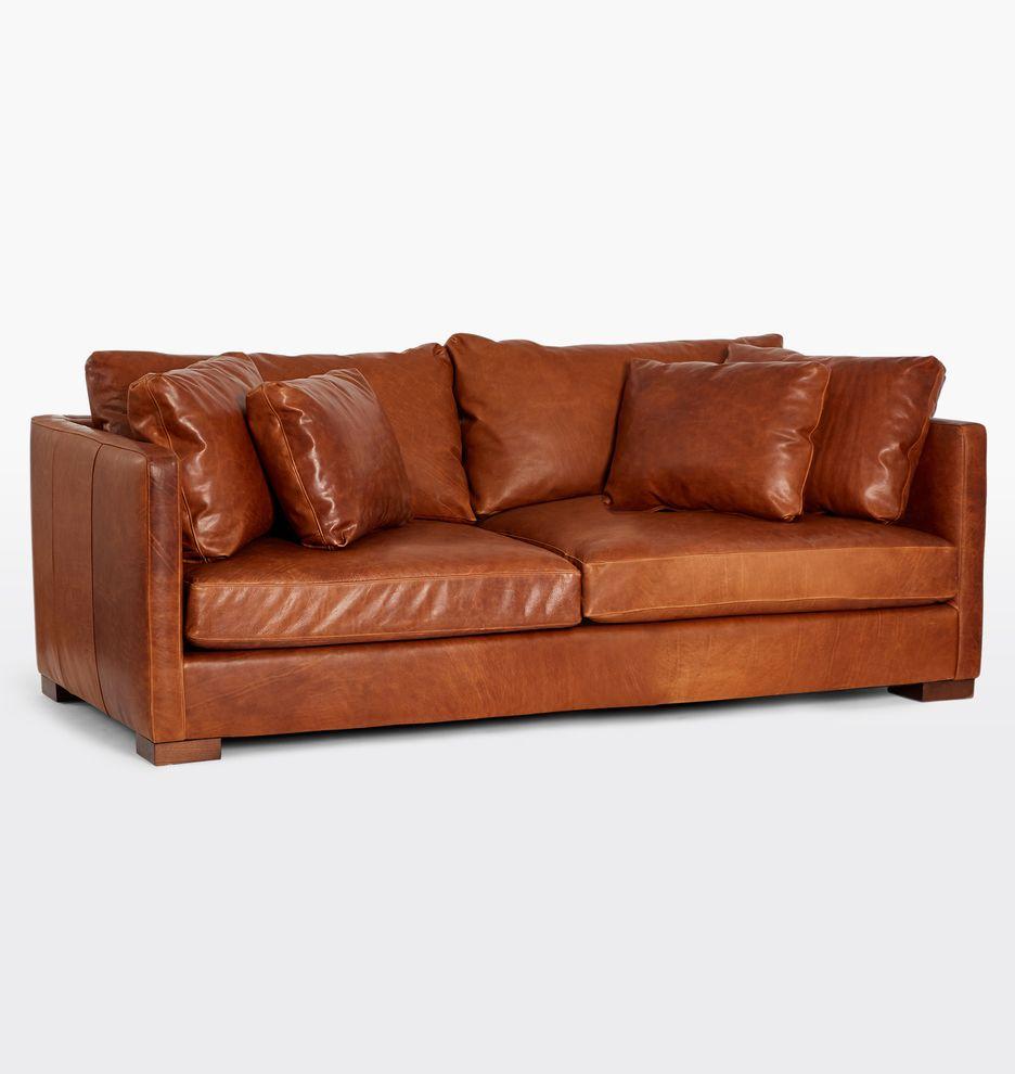 84 Wrenton Leather Sofa Rejuvenation Leather Sofa Leather Sofa Furniture Sofa