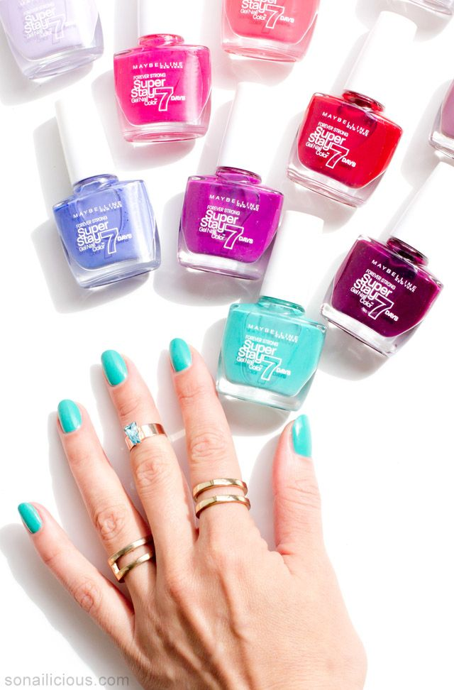 Maybelline Superstay Gel Nail Colour Does It Last 7 Days Nail Polish Gel Nail Colors Maybelline Super Stay