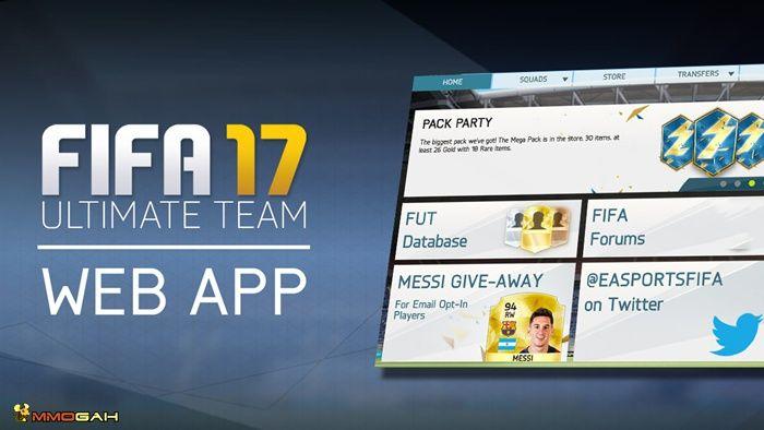 How To Access Fifa 17 Web App And Transfer Market Fifa 17 Fifa Web App