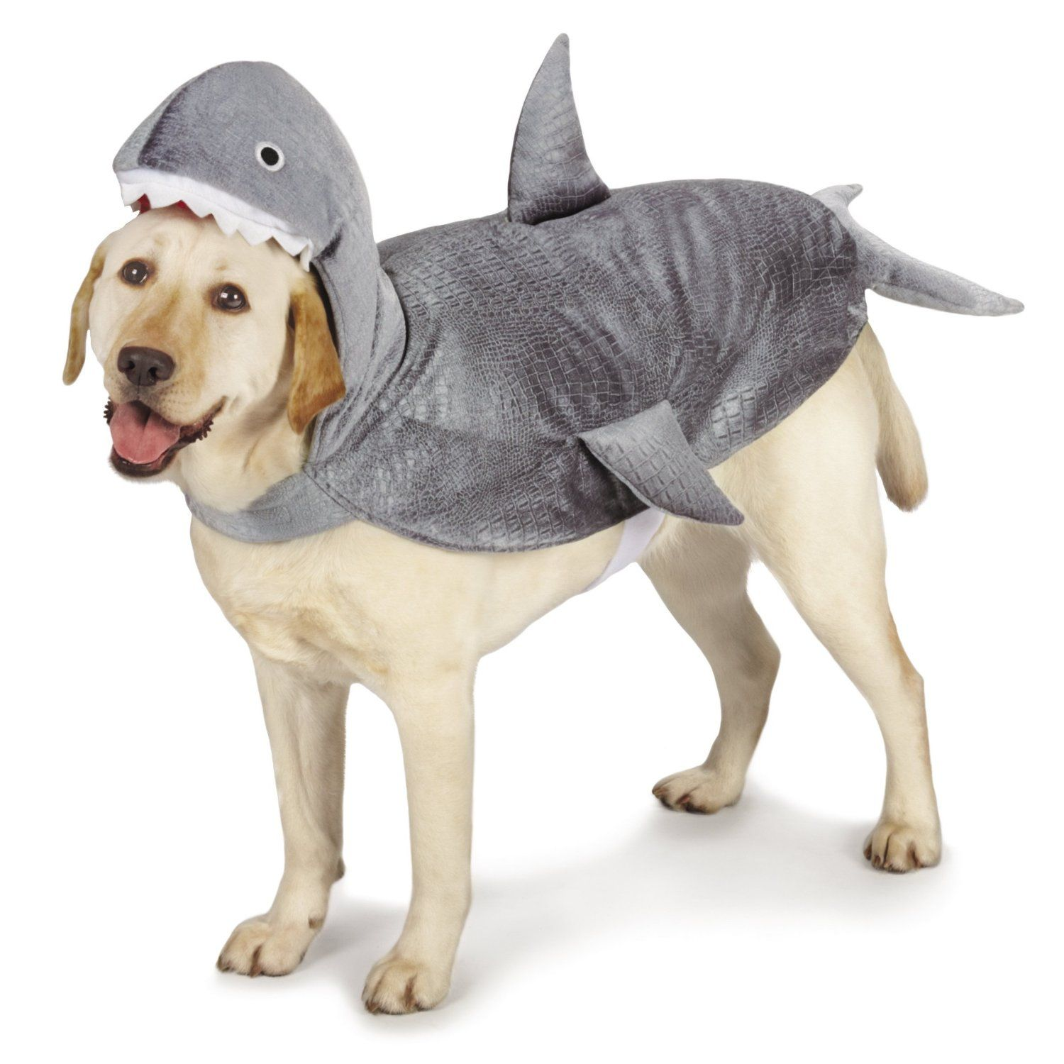 Amazon Com Casual Canine Casual Canine Shark Dog Costume X
