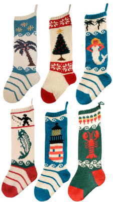 Christmas Cove Designs Stockings In Maine Knitted Christmas