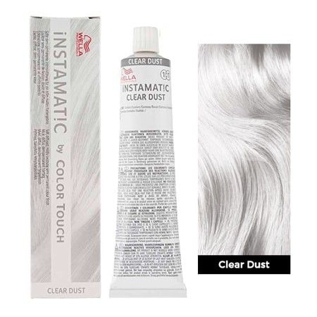 Wella Instamatic Clear Dust White Hair Toner White Hair Color