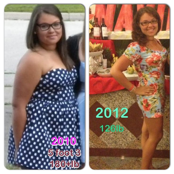 Very inspiring story! 5 3  180+ lbs - 126lbs  This is my