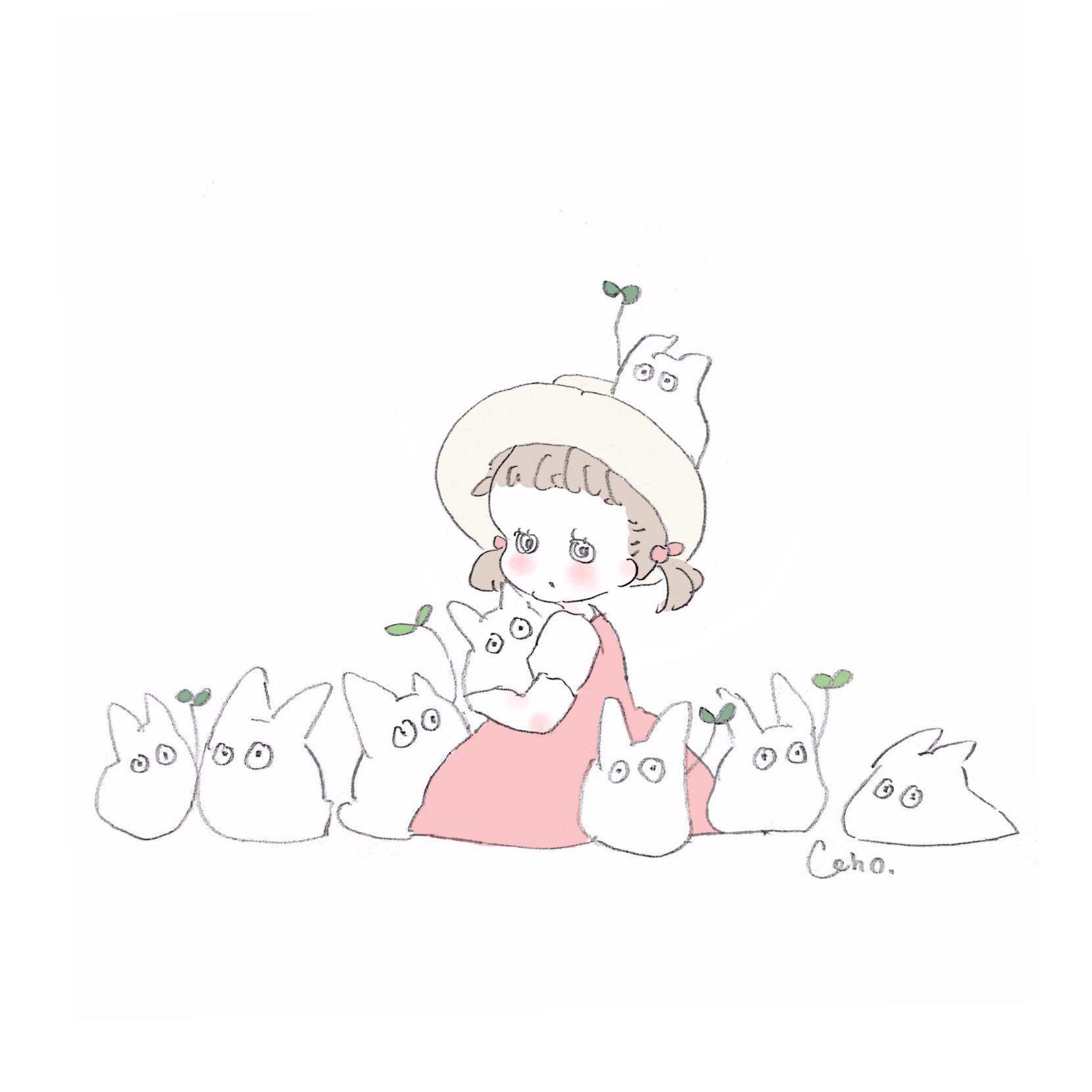 Ghim Của ゆうか Tren 可愛い đang Yeu Totoro Dễ Thương