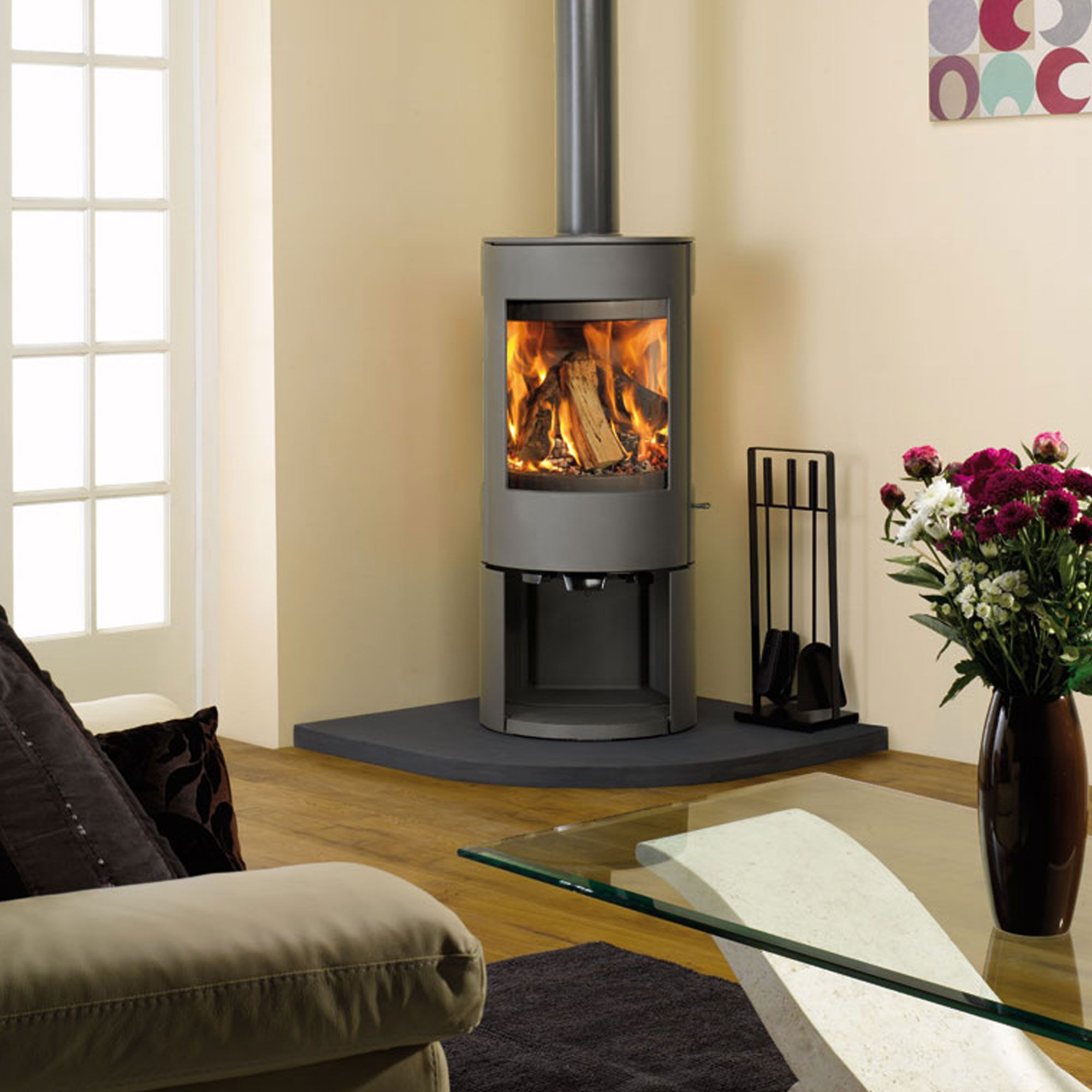 Dovre Astroline 3cb A Bell Fires Stoves Multi Fuel Wood Burning Stoves Living Room Wood Burning Stove Corner Wood Burning Stove Decor