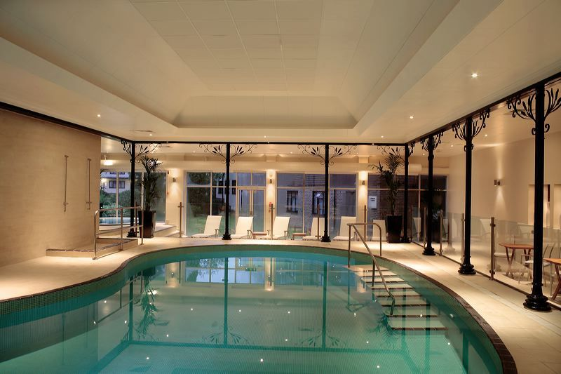 The Lovely Heated Indoor Swimming Pool At The Chakra Spa, East Grinstead