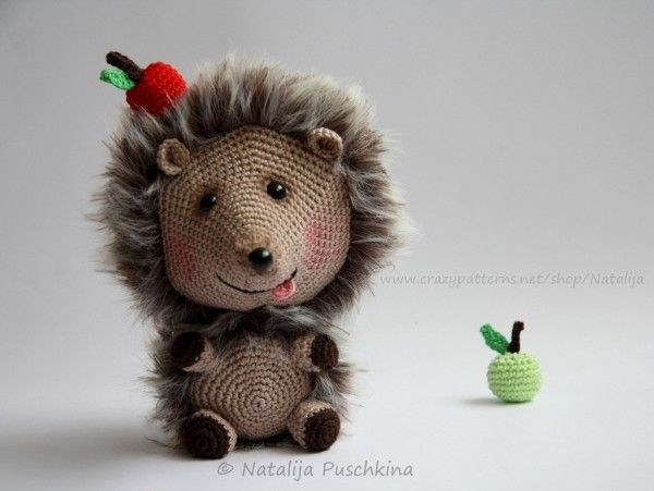 Igel Häkeln Anleitung Amigurumi Igel Häkeln Spielzeug Crochet