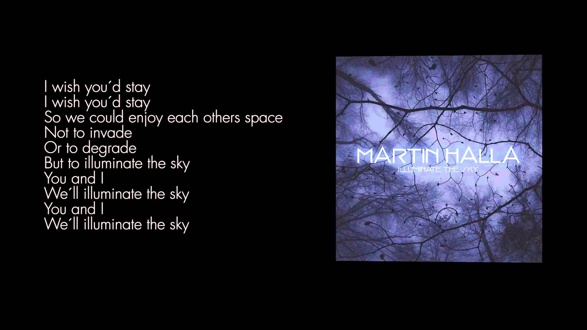 Martin Halla - Illuminate The Sky (Lyric Video)
