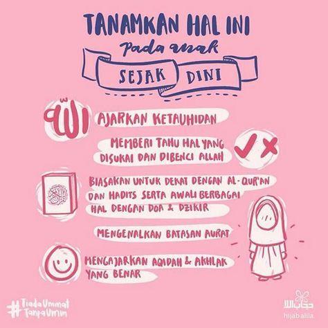 Hijabalila Assalamu Alaykum Tips Nih Untuk Mendidik Anak Mita