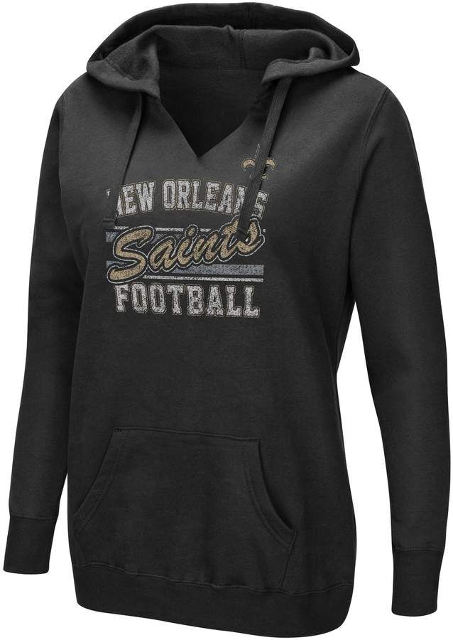 Women s Majestic New Orleans Saints Quick Out Hoodie in 2018 ... 1dd69959b