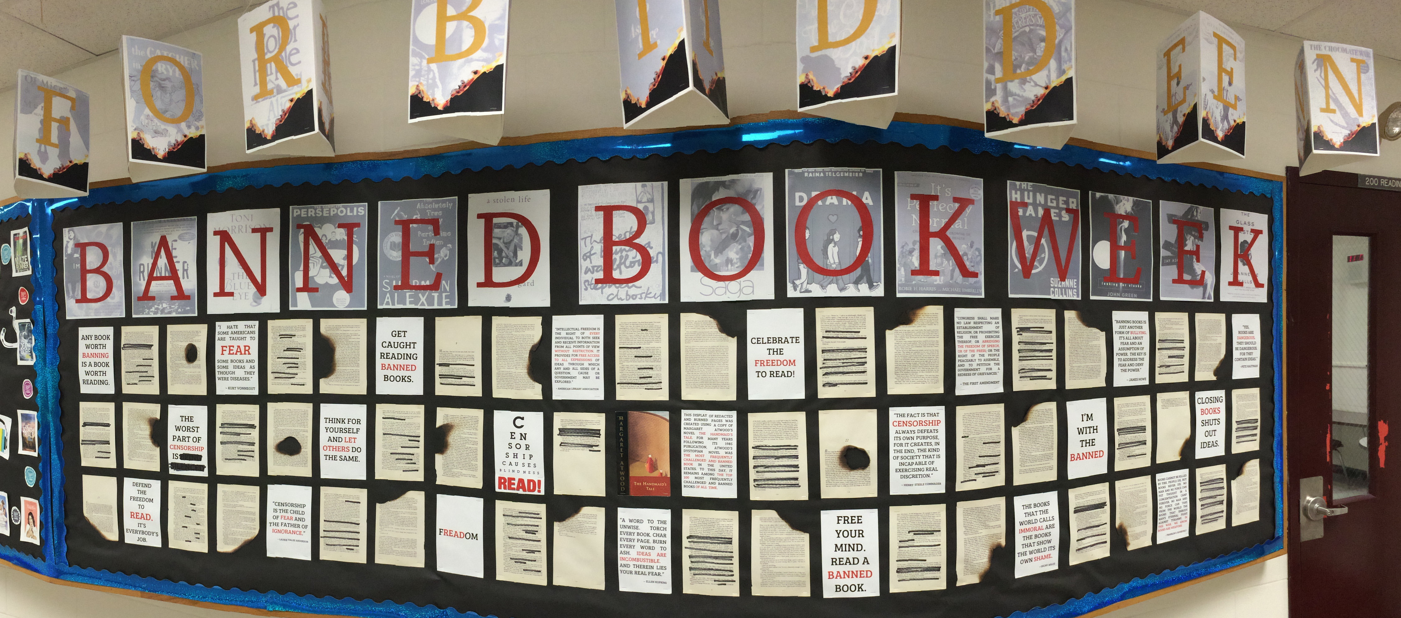 Cape Elizabeth Schools Llc Banned Books Week Banned Books Library Displays