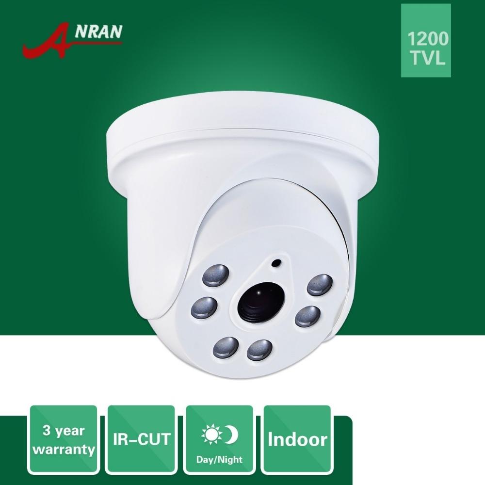 19.43$  Watch now - ANRAN HD 1200TVL 1/2.5 SONY CMOS IMX138 Sensor Indoor Dome 6 IR IR-Cut Day Night Vision Security CCTV Camera  #buymethat