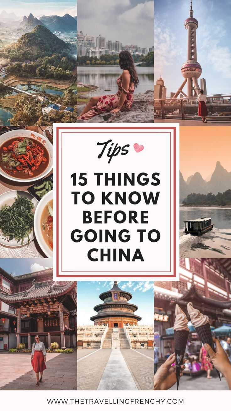15 Things to Know Before Visiting China #chinatravelguide