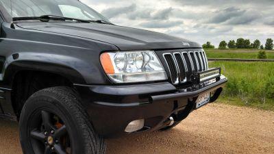 99 04 Grand Cherokee Wj Light Bar Wjflb1 199 99 Jeep Wj Jeep Grand Cherokee Jeep Cherokee Laredo
