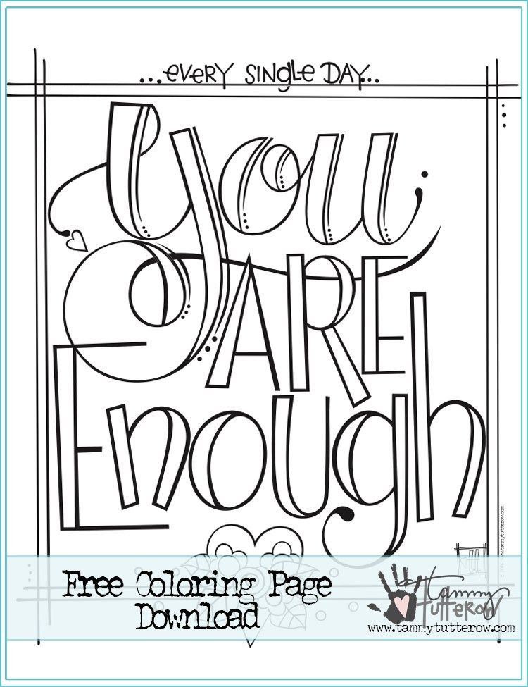 25+ Printable quote coloring pages for adults information