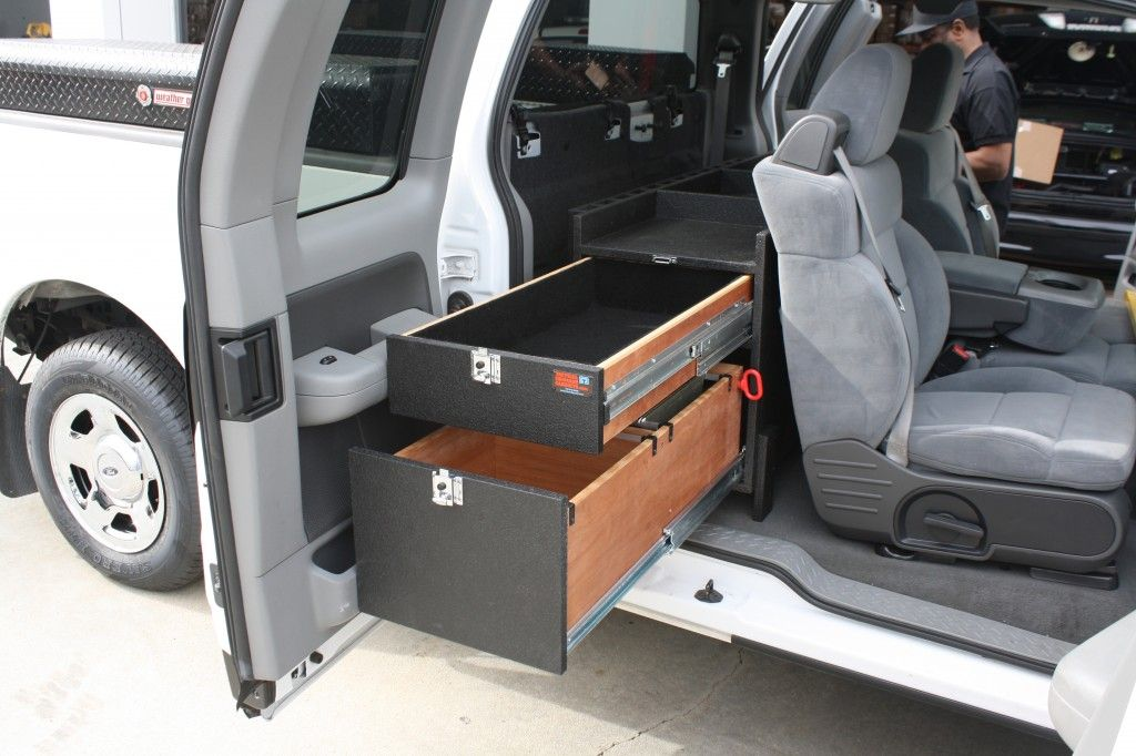 Pick Up Truck Storage For Public Works File Drawer Storage Ford Truck Interior Storage Ideas