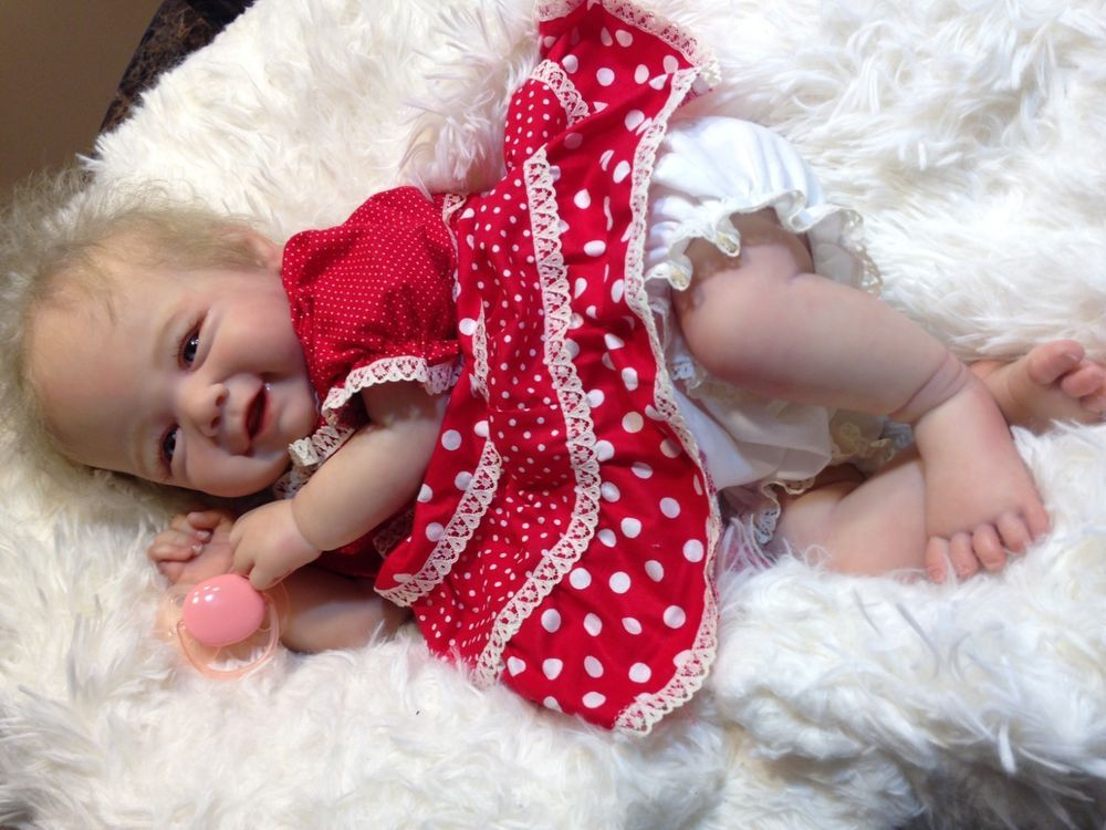 eb5ad42a44 reborn baby doll Vivienne by Sandy Faber 20