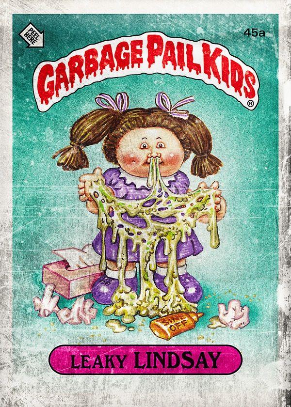 Garbage Pail Kids Characters Displate Posters