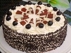 Mon Cheri Torte Torten Rezepte Pinterest Kuchen Backen Und