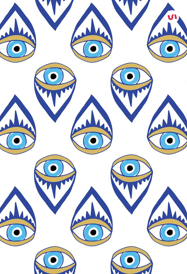 Evil Eye Illustrations Patterns Eye Illustration Eyes Wallpaper Evil Eye Art