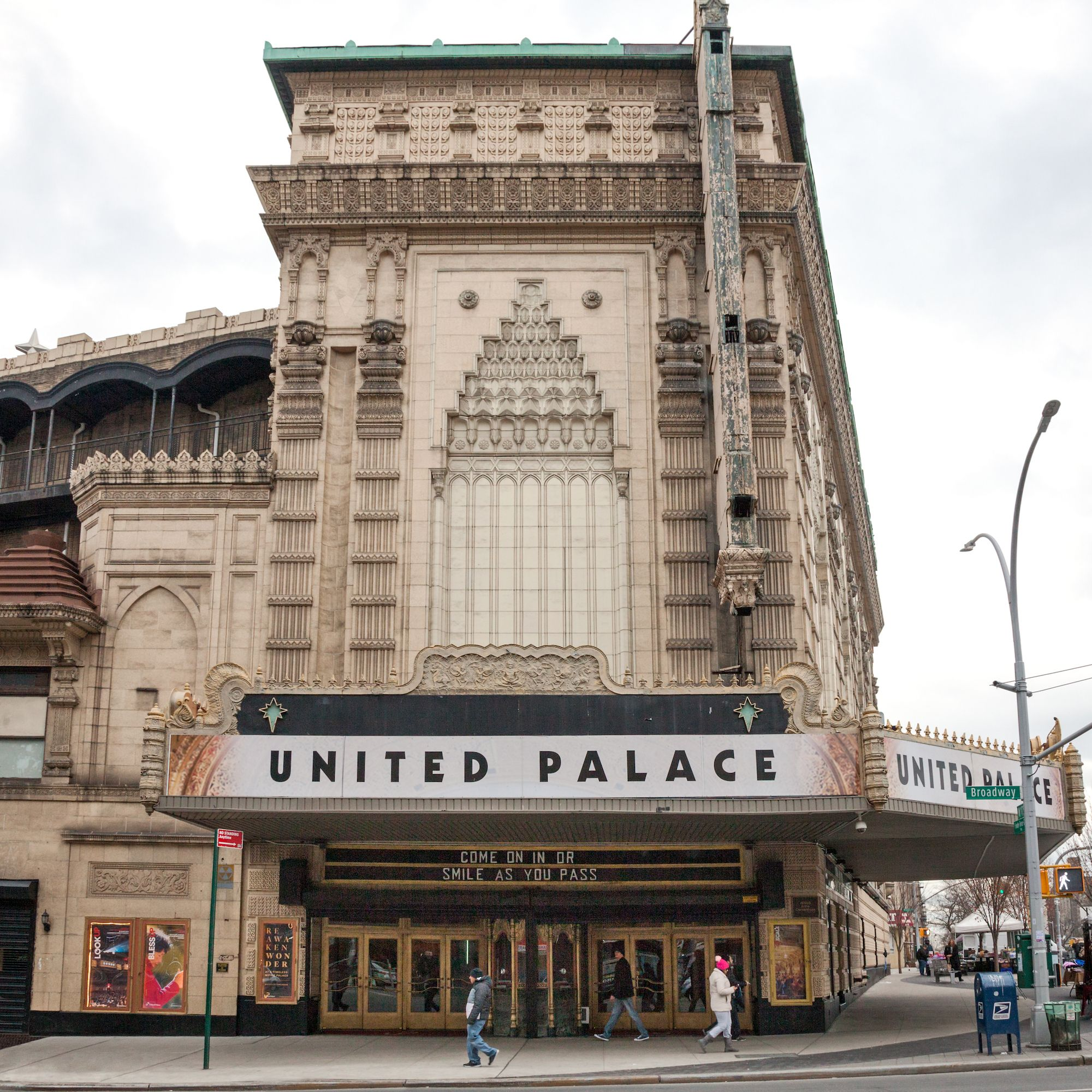 Behind The Scenes At The United Palace, Washington Heights