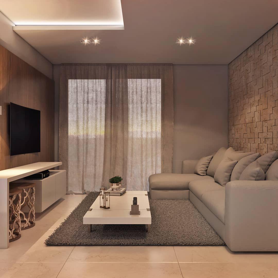 At Arquitetura Interiores No Instagram Uma Sala Clean Mas