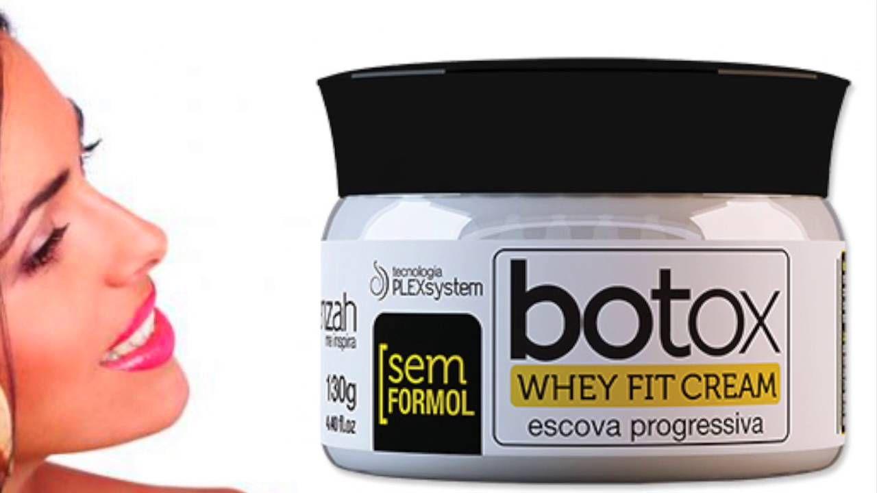 Whey Fit Cream Botox Escova Progressiva - Yenzah - Chic Mix