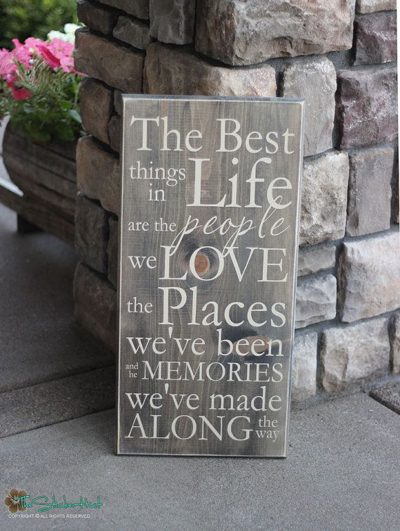 Wooden Signs Home Decor New The Best Things In Life Are The People We Love  Wood Sign  Home Design Inspiration