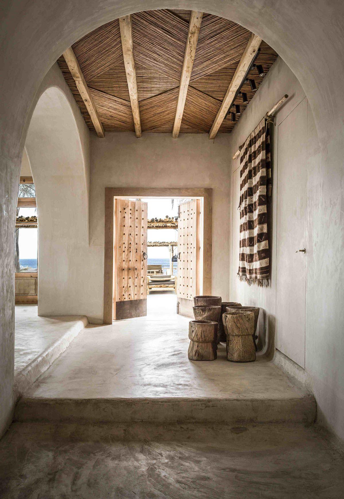 Ferienhaus innenarchitektur bohemian luxury at scorpios mykonos  haus  pinterest  haus