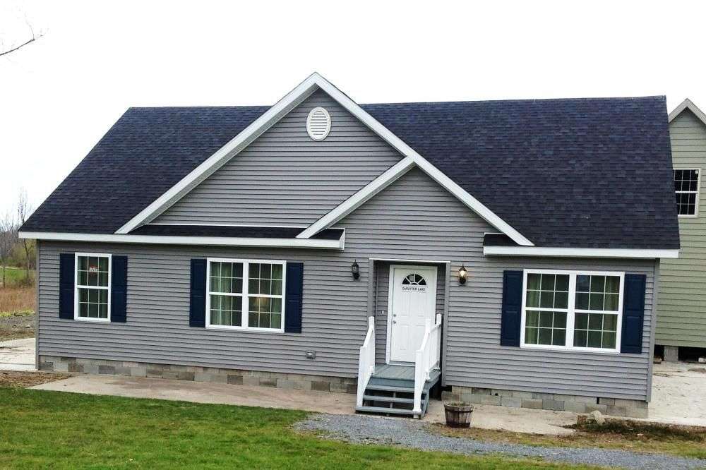 The deruyter lake modular home for sale by american homes