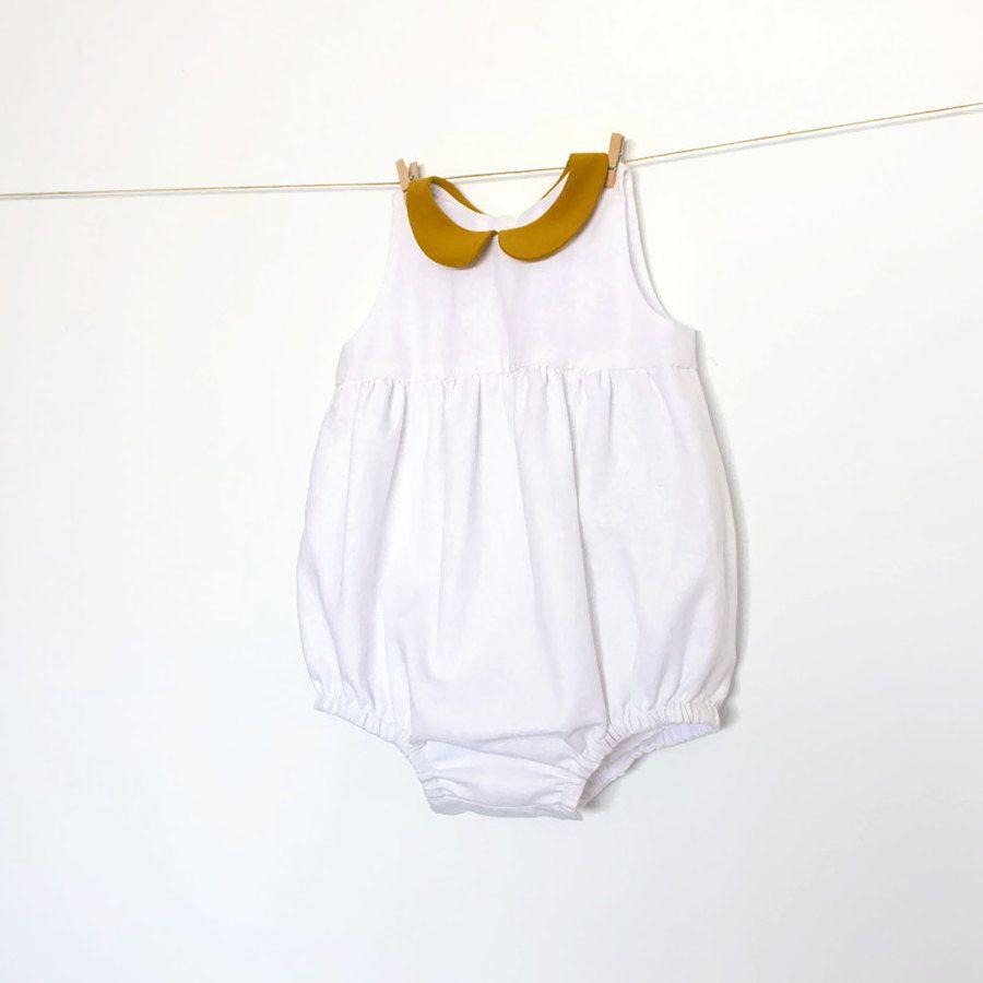 Descarga inmediata de Romper patrón de costura – PDF – del bebé ...