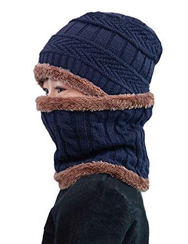 New MissShorthair Winter Beanie Hat Scarf Set Slouch Warm Knit Hat Neck  Warmer for Men Women Kids.   11.99 - 13.99  nanaclothing Fashion is a  popular style 67cfaf3b0971