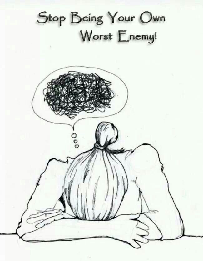 Yeah Worst As In That Bad: Scorpio Mind ... Yeah ..def Your Own Worst Enemy Scorpio