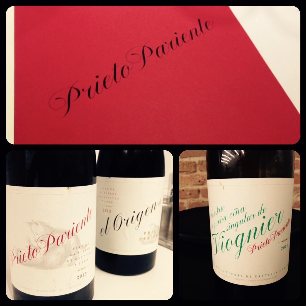 Gran proyecto de Martina e Ignacio @PrietoPariente Vinos diferentes para disfrutar. #Viognier