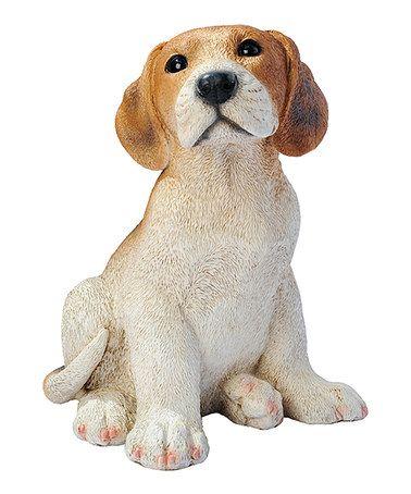 Look what I found on #zulily! Beagle Puppy Statue #zulilyfinds