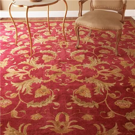 Cranberry Sage And Antique Gold Tufted Rug Tufted Rug Inexpensive Area Rugs Gold Living Room Decor